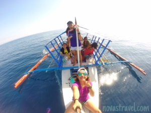 The best way to end our dolphin chasing adventure - Groupie