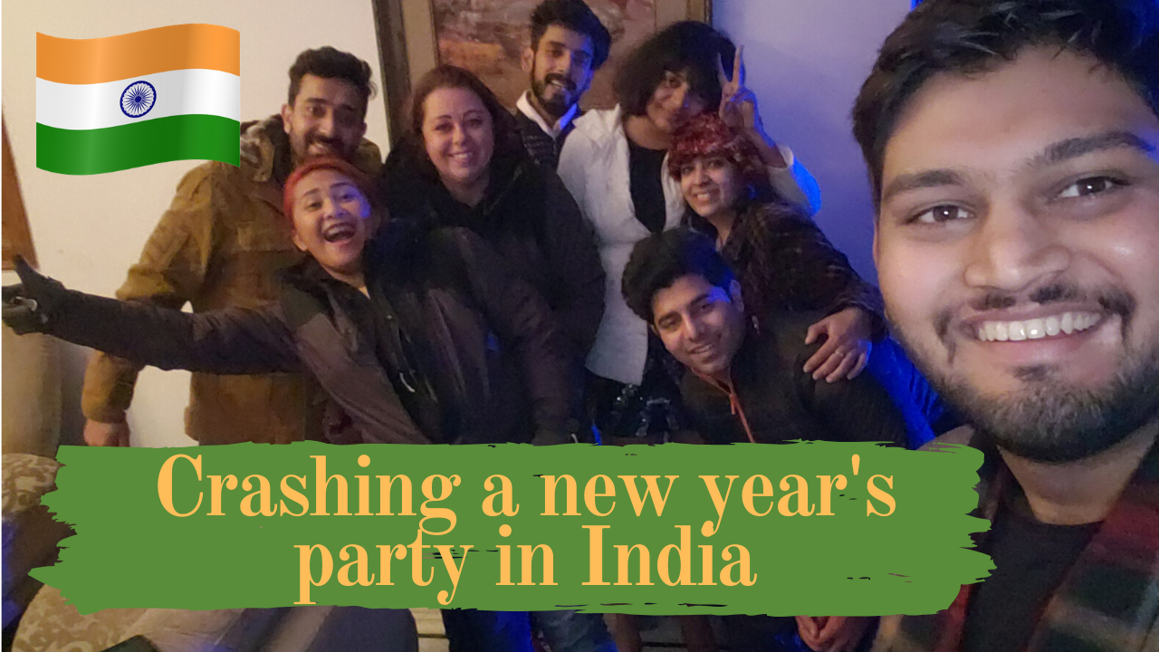 Crashing a new years eve party injaipur